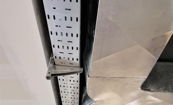 Réseau Electricité - Chemins de câble - Gaine de climatisation