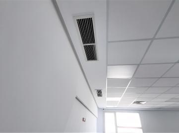 Réseau Climatisation - Plafond démontable