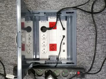 Réseau Electricité et Informatique - Boites au sol